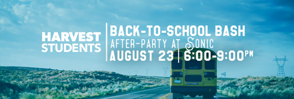 HSM: Back-to-school Bash & Sonic After-Party