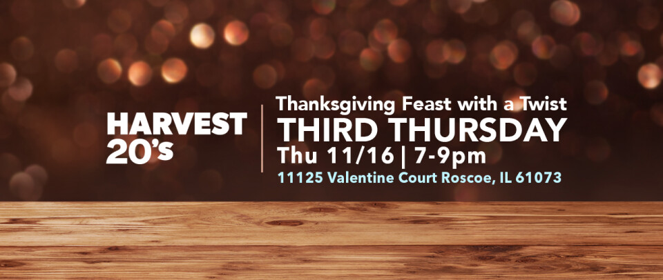 Harvest 20s | Thanksgiving Feast with a Twist!