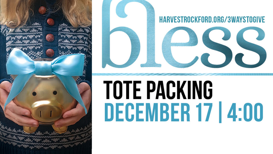 Bless | Tote-Packing