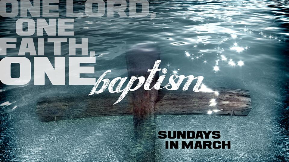 Baptism Sundays
