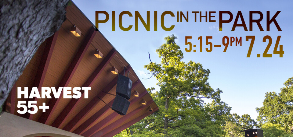 55+  | Picnic and Concert in the Park