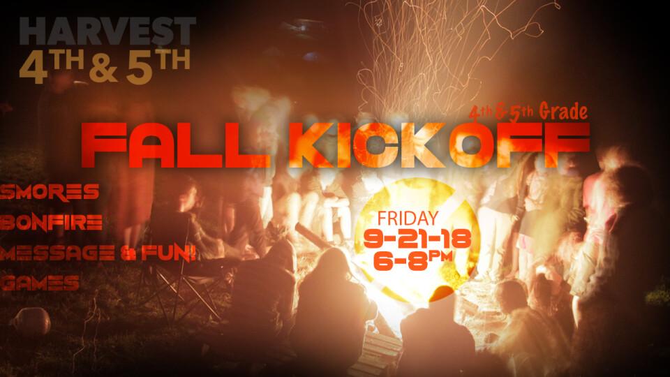 4th & 5th Grade Bonfire Kick-Off!
